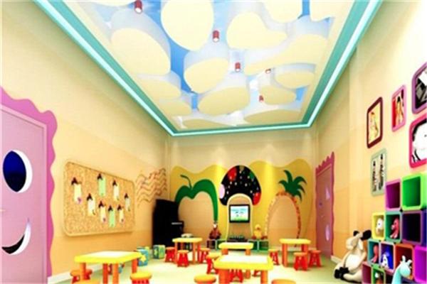 天使寶貝幼兒園教室裝飾