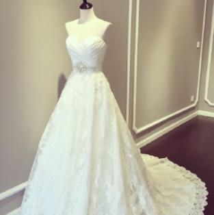LaMoon婚纱裙摆