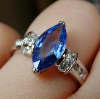 魔星莫桑钻戒指