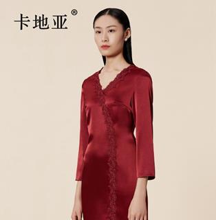 卡地亚女装红裙
