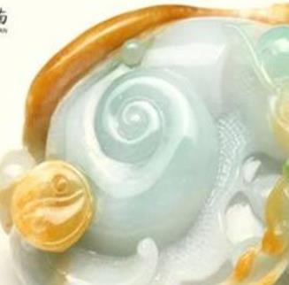七彩云南玉器乳白