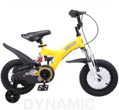 優貝兒童自行車黃色洪峰