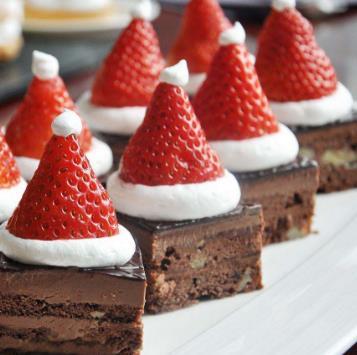 可可斯味甜品多个草莓