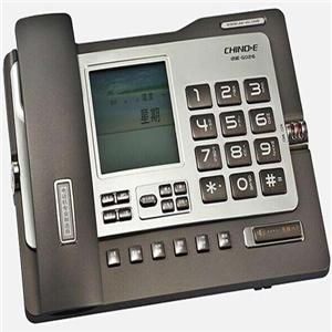 中诺电话机灰色