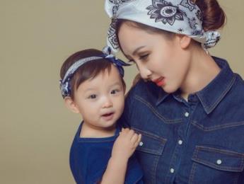 媽咪寶貝兒童攝影親子照