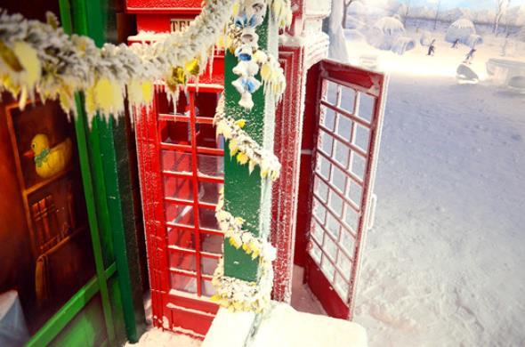樂漫冰雪王國電話亭