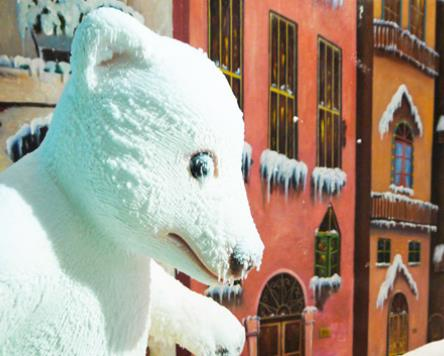 樂漫冰雪王國雪熊