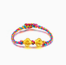 周福生珠宝手链