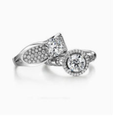 周福生珠宝戒指