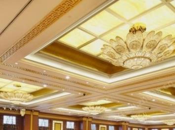 桃园山庄大酒店大厅