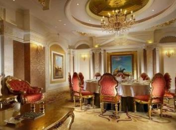 桃园山庄大酒店客厅