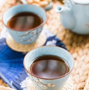 廿四味凉茶咖啡色