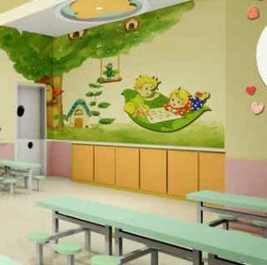 美格双语幼儿园食堂