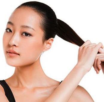 依靠美容美发头发