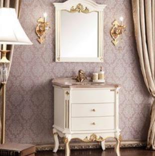 欧凯莎浴室柜乳白色