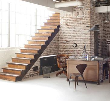 可可映画摄影工作室楼梯