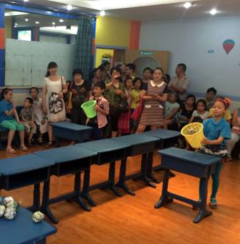 燕郊儿童英语培训互动