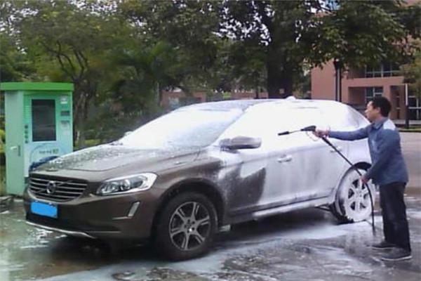 易捷自助洗车加盟
