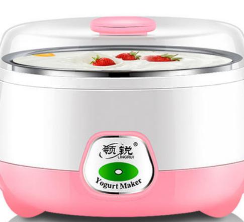 领锐酸奶机美观