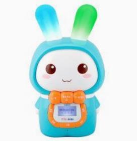 米宝兔儿童早教机淡蓝