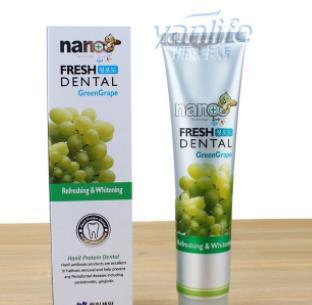 纳米银牙膏水果