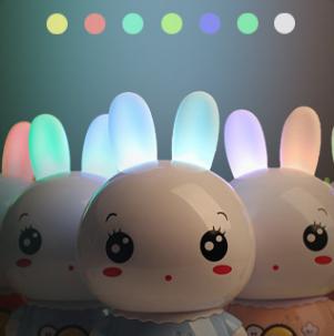 美美兔兒童早教故事機夜燈