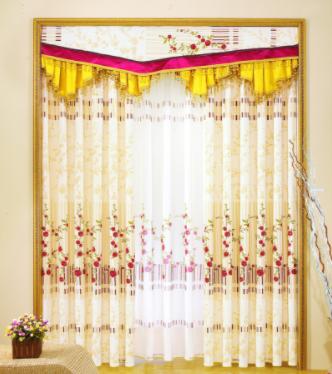阳光窗帘布艺优质