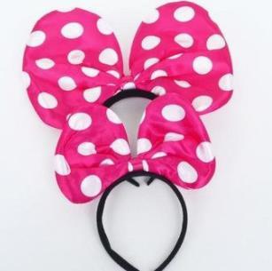 米奇頭飾粉紅
