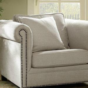 美式布艺沙发纯色