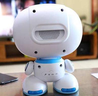 乐源智能机器人背面
