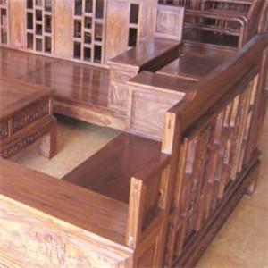 木王布艺沙发木制