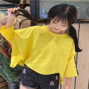 原宿女装黄色
