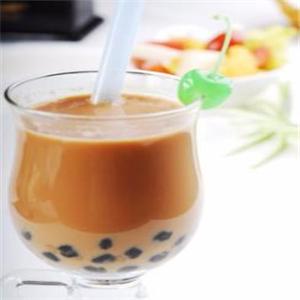 偶可奶茶美味