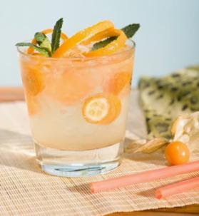 一杆进洞鸡尾酒橙子味