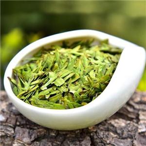 早春绿茶一盆