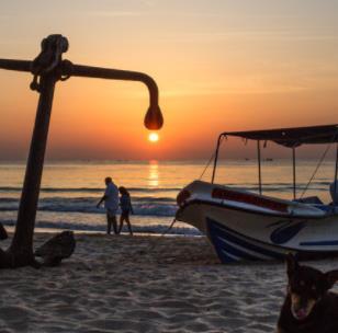 斯里兰卡摄影夕阳西下