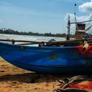 斯里兰卡摄影船