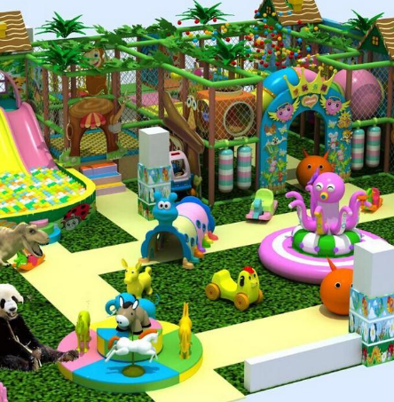 樂園淘氣堡造型