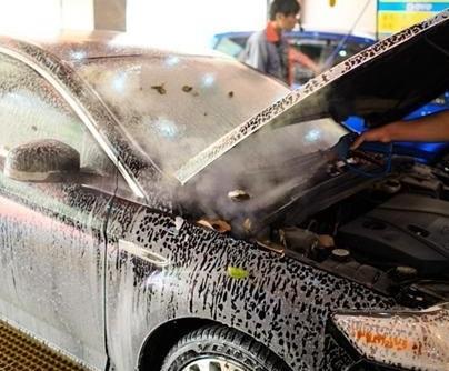優沫環保蒸汽洗車機汽車