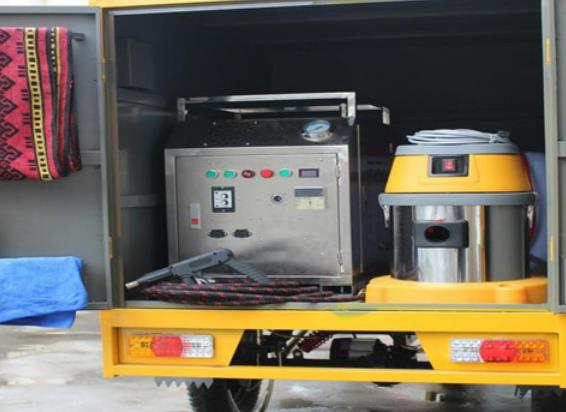 優沫環保蒸汽洗車機產品