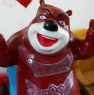 熊大熊二搖搖車熊大