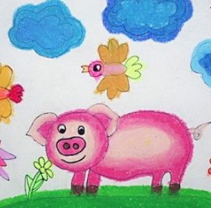 博申幼儿园绘画
