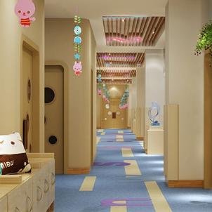 愛都國際幼兒園走廊