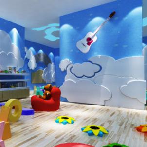愛都國際幼兒園繪畫室