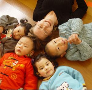 藍天雙語幼兒園外教