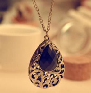 俏佳人飾品寶石項鏈