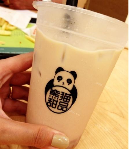 熊貓奶茶店奶茶