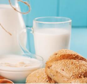 俏皮羊羊奶粉早餐