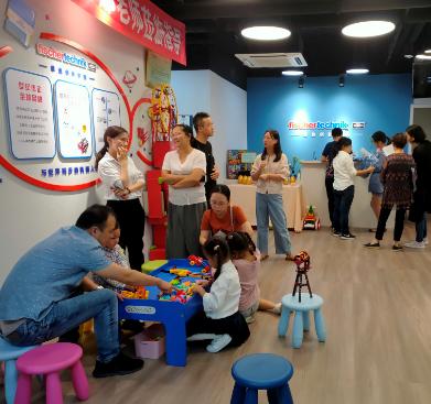 慧魚創新學院機器人編程教育門店5