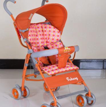 万宝童车橙色